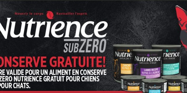 nutrience-gratuit